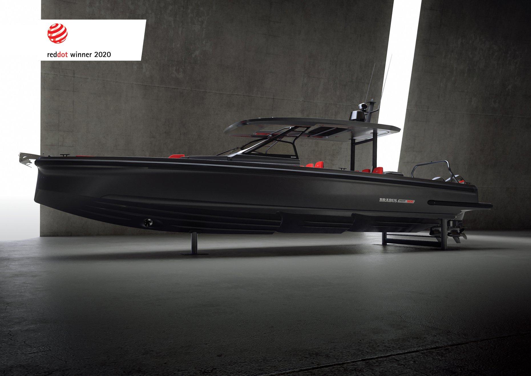Nowy BRABUS Shadow 900 wygrywa Red Dot Design!